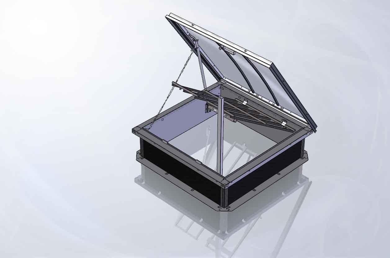 skydome ouvrant rev tements modernes du toit. Black Bedroom Furniture Sets. Home Design Ideas