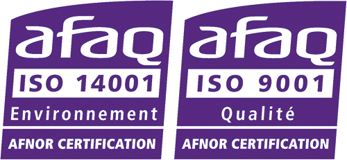 Certification qualité ISO 14001 et ISO 9001