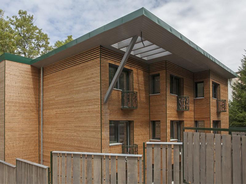 Bâtiment BBC à énergie positive, Bures-sur-Yvette (91)